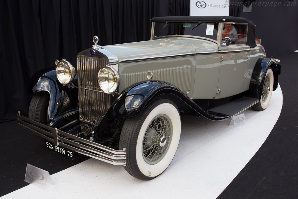 Delage D8 Series C Drophead Coupe - Chassis: 33783   - 2015 Retromobile