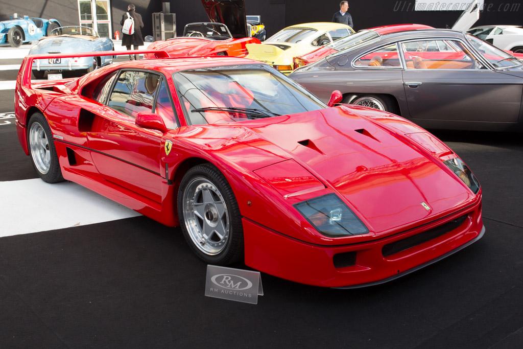 Ferrari F40 - Chassis: 87990  - 2015 Retromobile