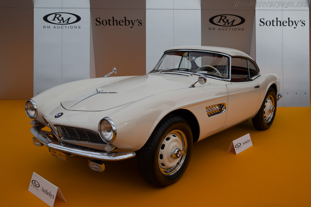 BMW 507 - Chassis: 70131   - 2016 Retromobile