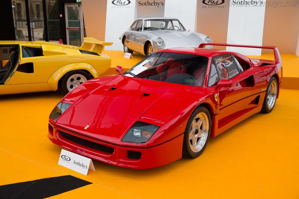 Ferrari F40 - Chassis: 80161   - 2016 Retromobile
