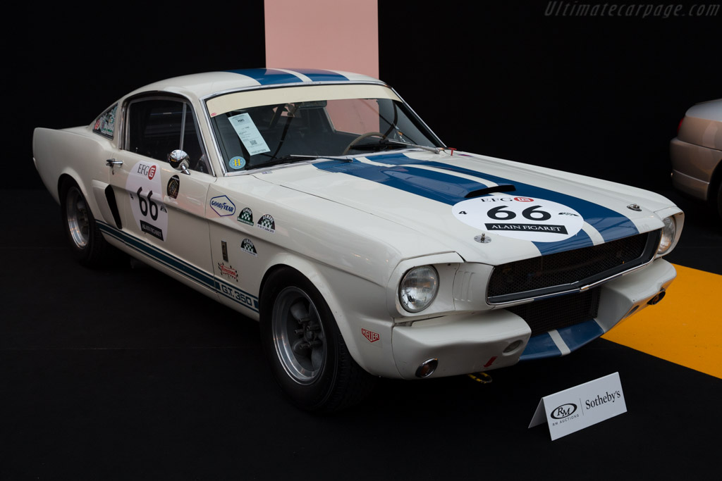 Ford Shelby Mustang Gt350 Chassis Sfm6s748 2016