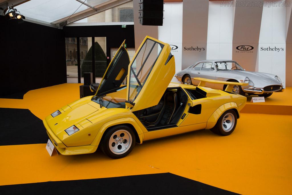Lamborghini Countach Lp400 S Chassis 1121358 2016 Retromobile