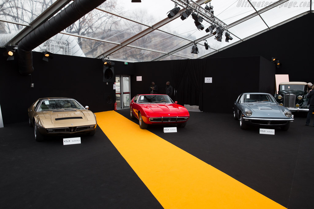 Maserati Ghibli - Chassis: AM115 0752   - 2016 Retromobile