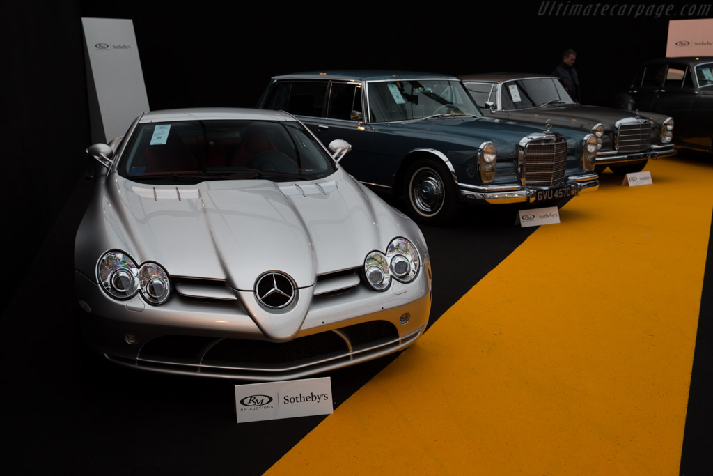 Mercedes-Benz SLR McLaren - Chassis: WDD1993761M000391   - 2016 Retromobile