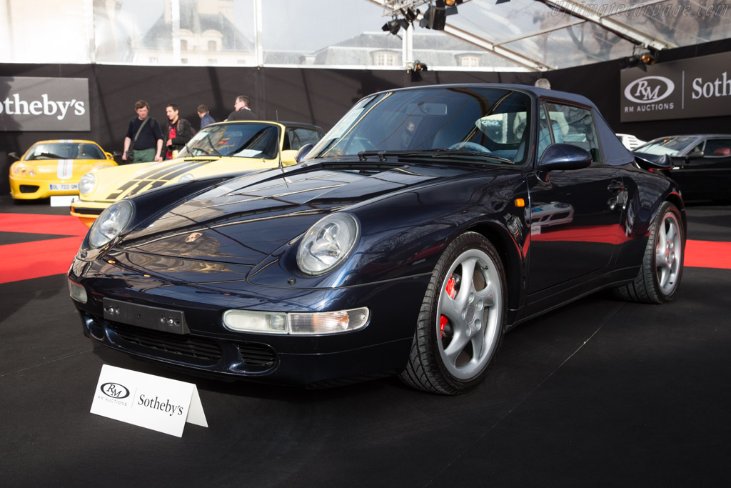 Porsche 911 Turbo Cabriolet - Chassis: WP0ZZZ99ZSS338505   - 2017 Retromobile