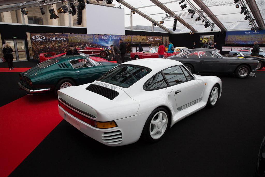 Porsche 959 Sport Chassis Wp0zzz95zjs905011 2017
