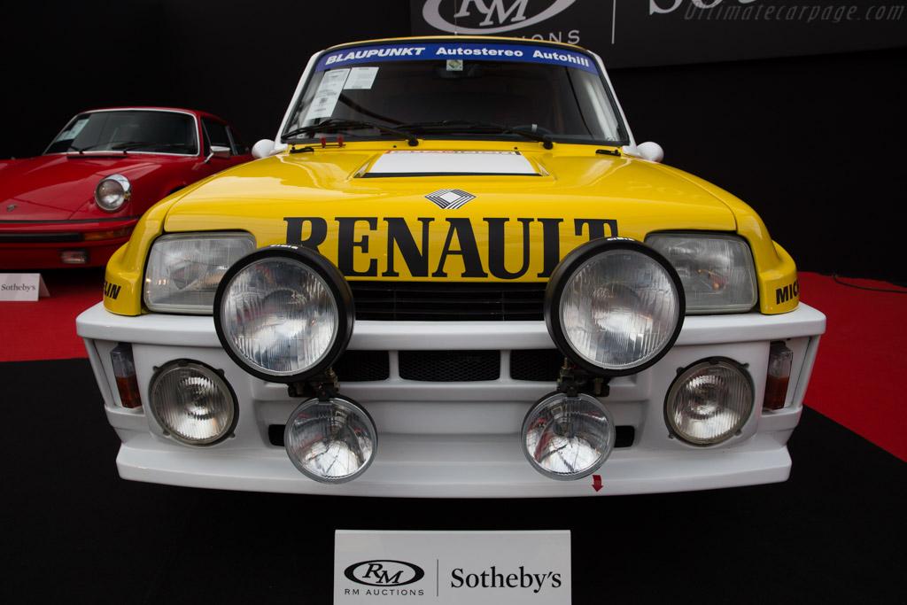 Renault 5 Turbo Tour de Corse - Chassis: VF1822004D0000020   - 2017 Retromobile