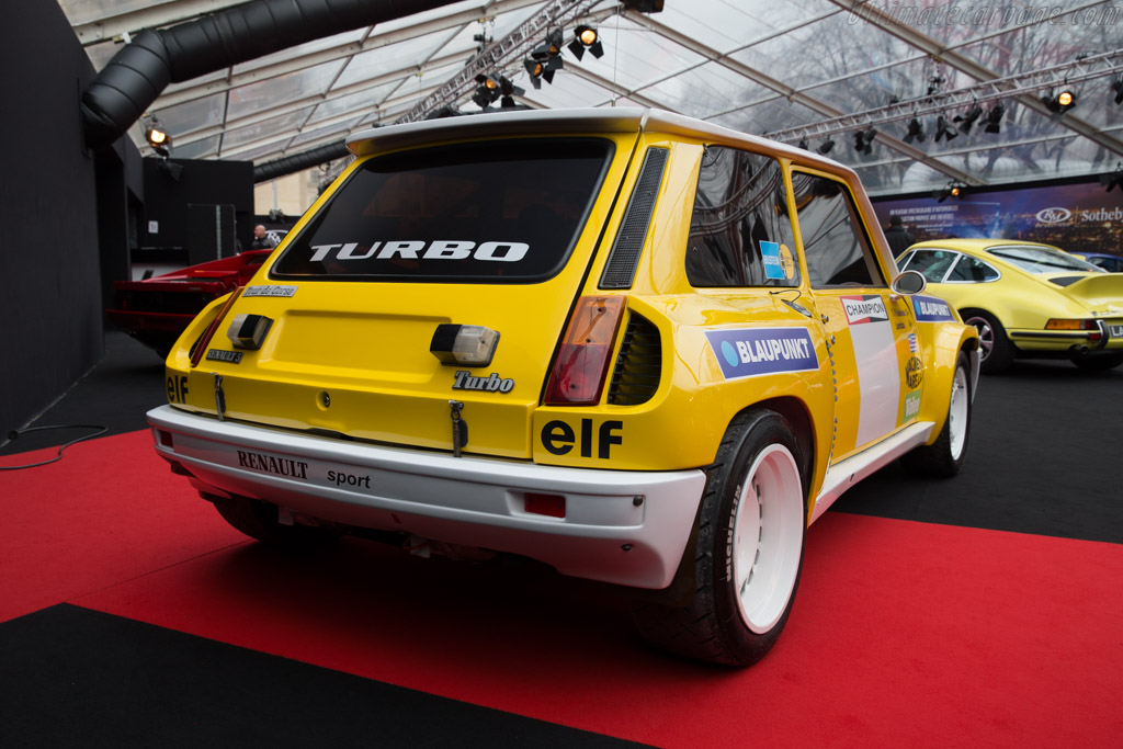 Renault 5 Turbo Tour de Corse - Chassis: VF1822004D0000020   - 2017 Retromobile