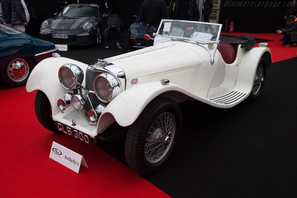 SS 100 Jaguar 2½-Litre Roadster - Chassis: 49061   - 2017 Retromobile