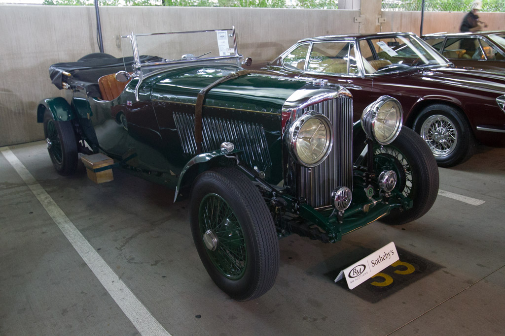 Bentley 3½ Litre Tourer - Chassis: B90CR   - 2017 Scottsdale Auctions