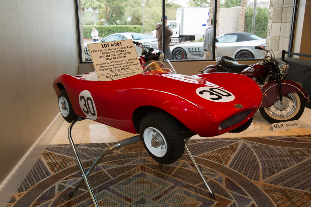 Connetti Ferrari Monza    - 2017 Scottsdale Auctions