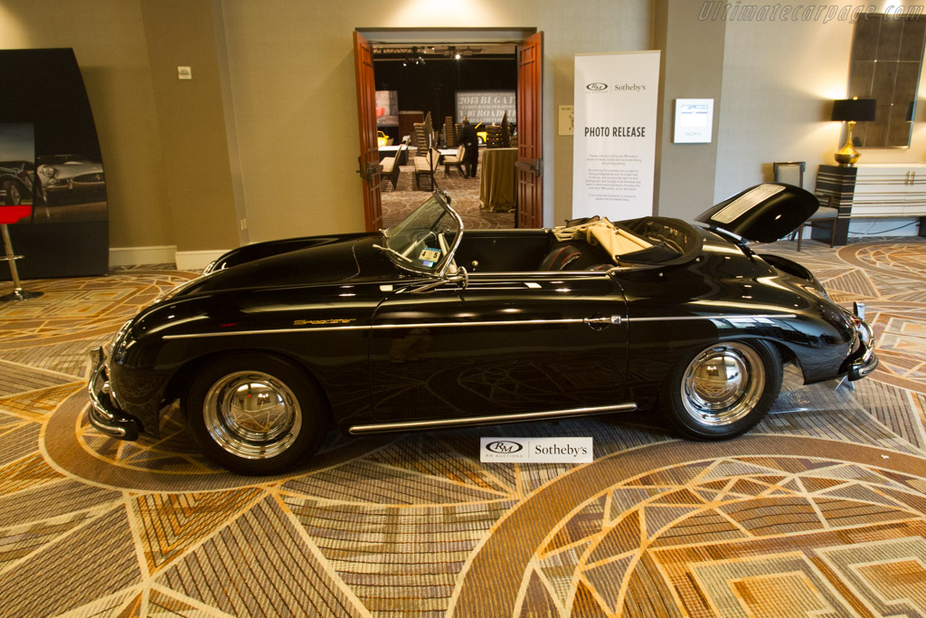 Porsche 356 A 1600 Speedster - Chassis: 83456   - 2017 Scottsdale Auctions