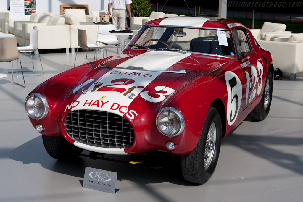 Ferrari 250 MM Pinin Farina Berlinetta - Chassis: 0352MM   - 2011 Concorso d'Eleganza Villa d'Este