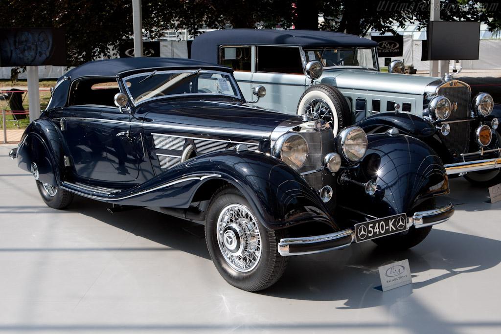 Mercedes-Benz 540K Cabriolet A - Chassis: 154081   - 2011 Concorso d'Eleganza Villa d'Este
