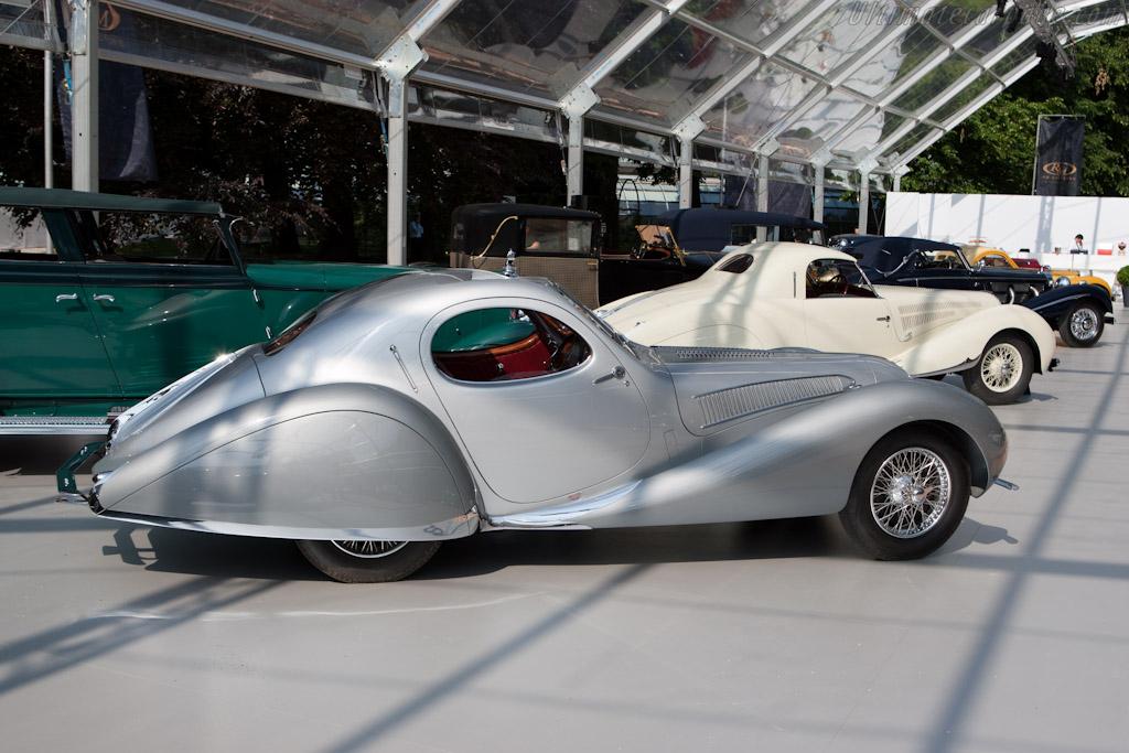 Talbot Lago T150C SS Figoni & Falaschi Teardrop Coupe - Chassis: 90112   - 2011 Concorso d'Eleganza Villa d'Este