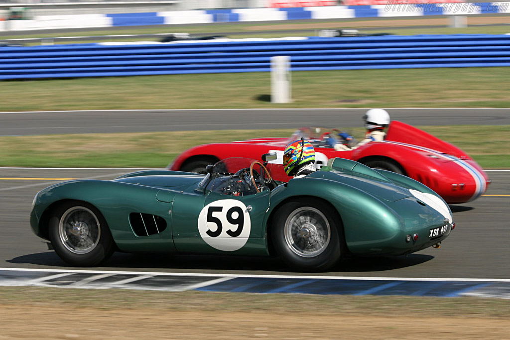 Aston Martin DBR1 - Chassis: DBR1/2 - Entrant: Harry Leventis - Driver: Peter Hardman  - 2006 Silverstone Classic