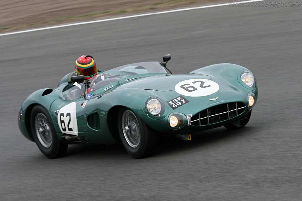 Aston Martin DBR1 - Chassis: DBR1/2 - Entrant: Harry Leventis - Driver: Nic Leventis  - 2006 Silverstone Classic