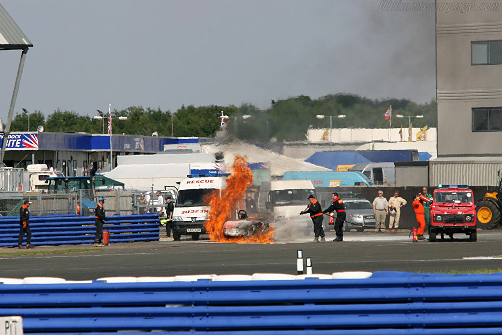 Cobras; Highly flammable    - 2006 Silverstone Classic