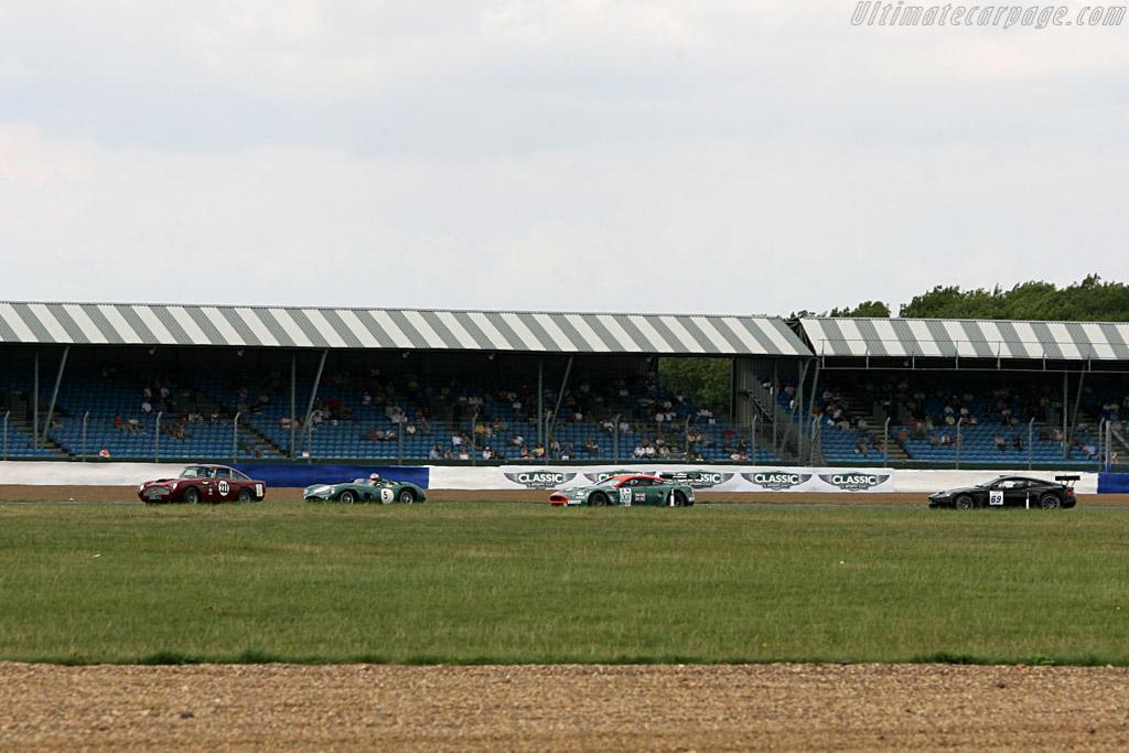 DB4 GT, DBR1,  DBR9 and DBRS9 - Chassis: DB4GT/0109/R   - 2006 Silverstone Classic