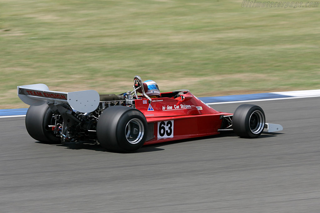 Ensign MN177 - Chassis: MN09   - 2006 Silverstone Classic