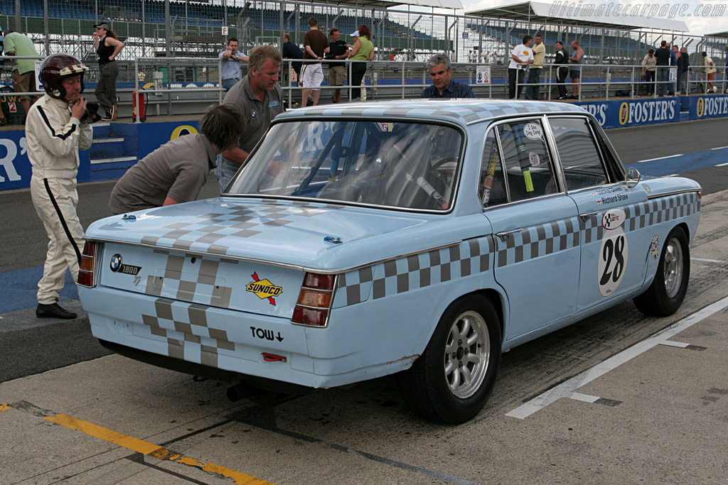 Jackie Oliver out, Richard Shaw in   - 2006 Silverstone Classic