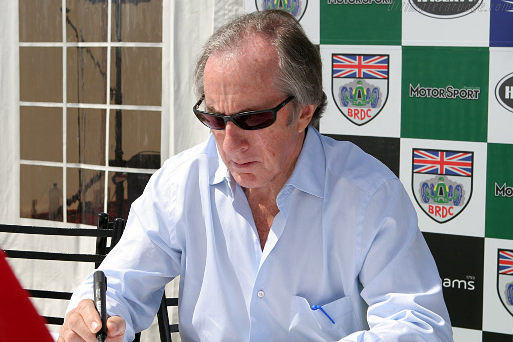 Jackie Stewart and ..    - 2006 Silverstone Classic