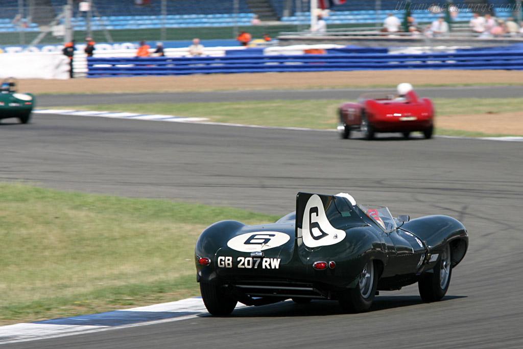 Jaguar D-Type    - 2006 Silverstone Classic