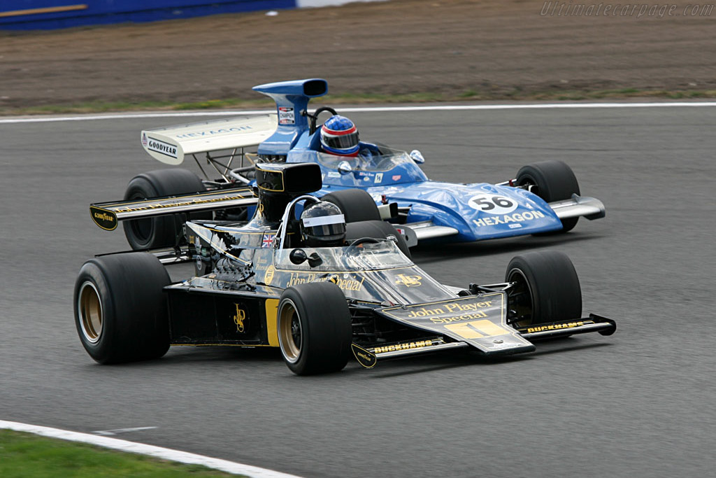 Lotus 76 - Chassis: JPS9   - 2006 Silverstone Classic