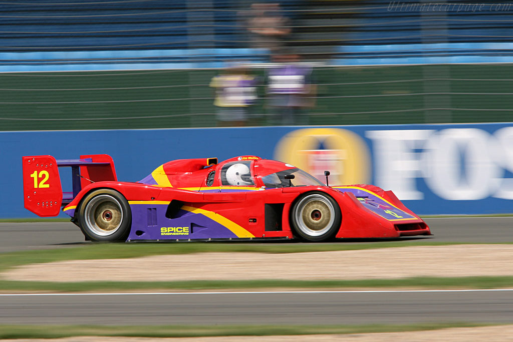 Spice GTP Chevrolet - Chassis: SE92P-025   - 2006 Silverstone Classic