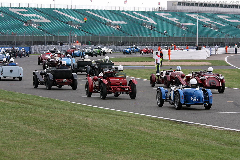 The grid    - 2006 Silverstone Classic