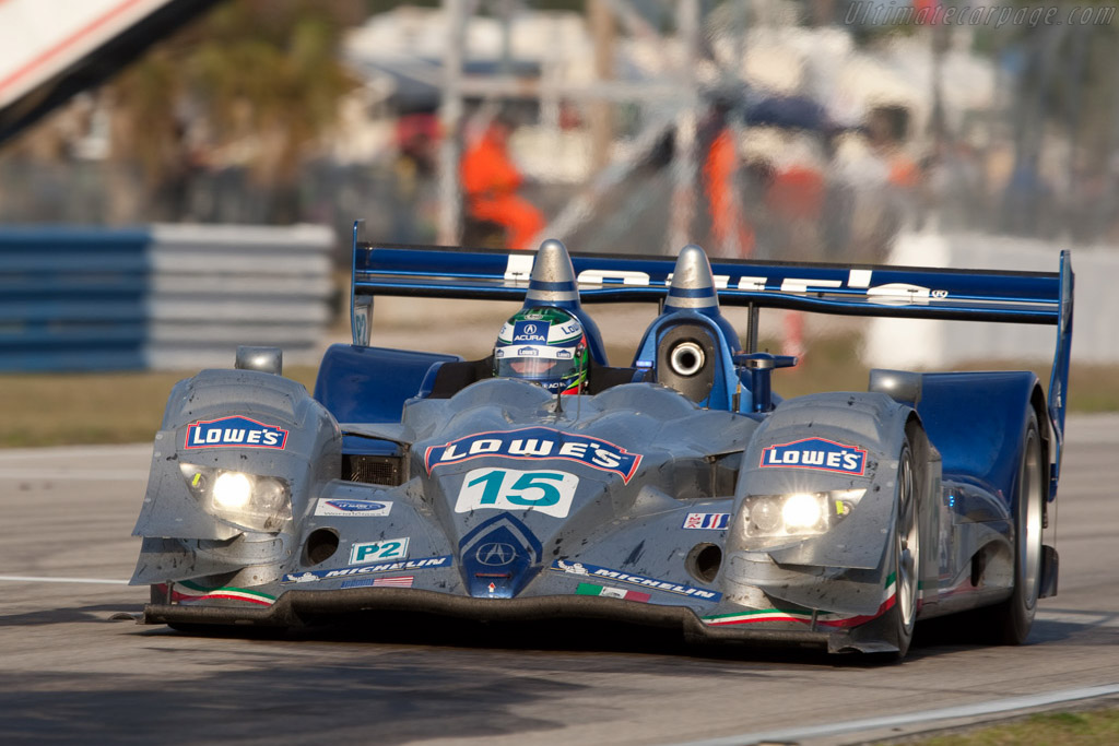 Acura ARX-01b - Chassis: LC70-9   - 2009 Sebring 12 Hours