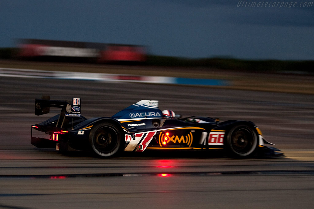 Acura ARX-02a - Chassis: 1   - 2009 Sebring 12 Hours