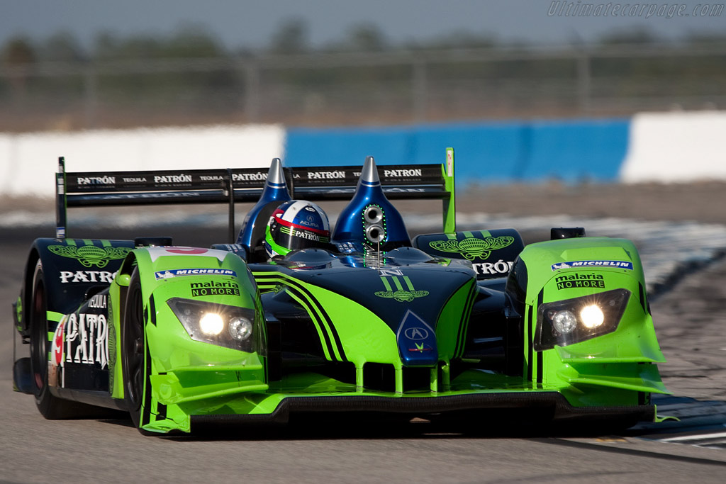 Acura ARX-02a - Chassis: 2   - 2009 Sebring 12 Hours