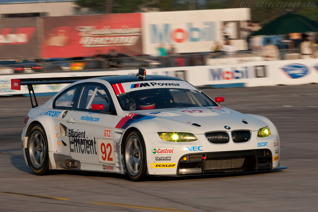 BMW M3 GTR - Chassis: 901   - 2009 Sebring 12 Hours