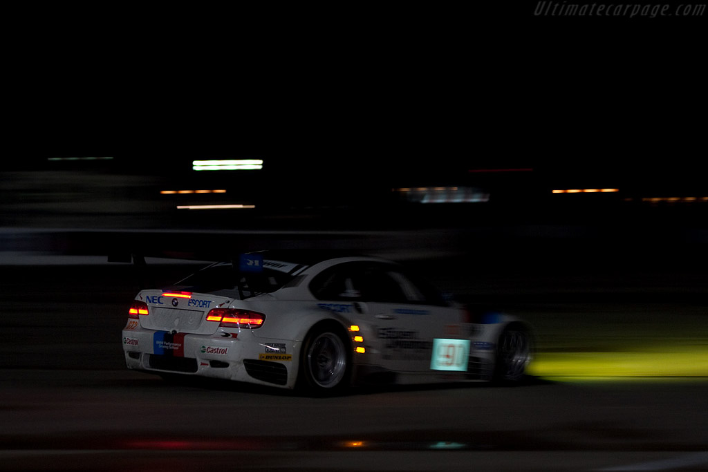 BMW M3 GTR - Chassis: 903   - 2009 Sebring 12 Hours