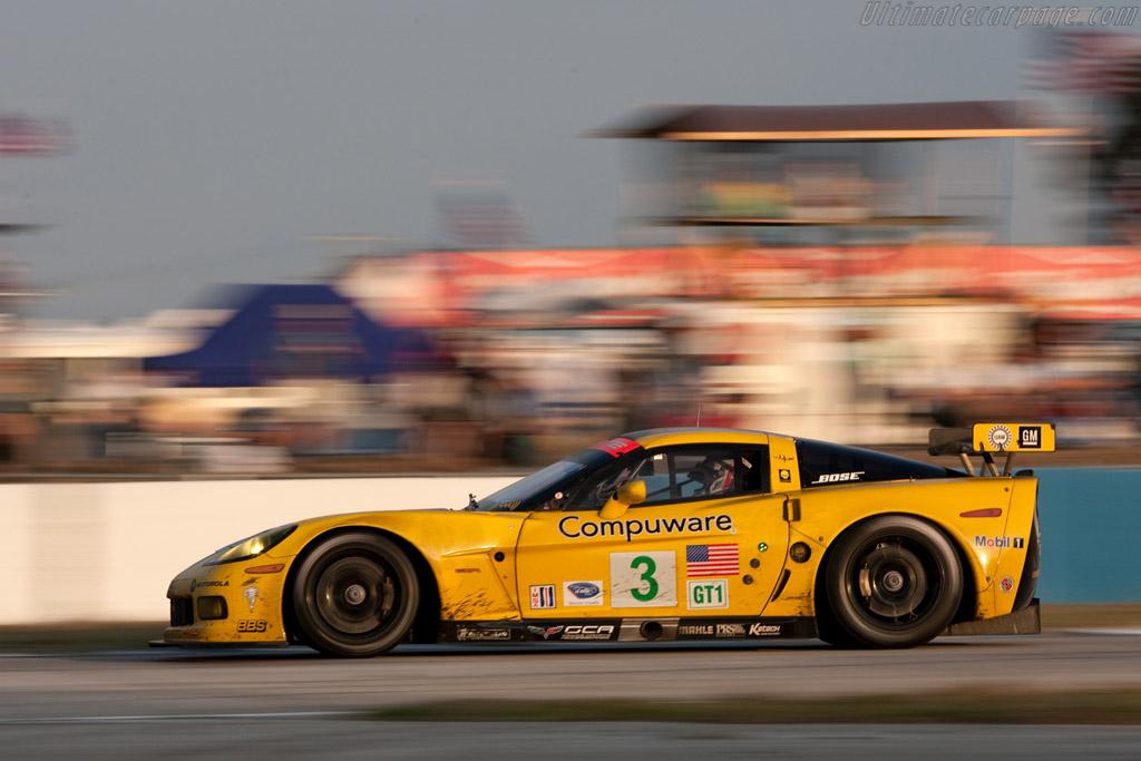 Chevrolet Corvette C6.R - Chassis: 007   - 2009 Sebring 12 Hours