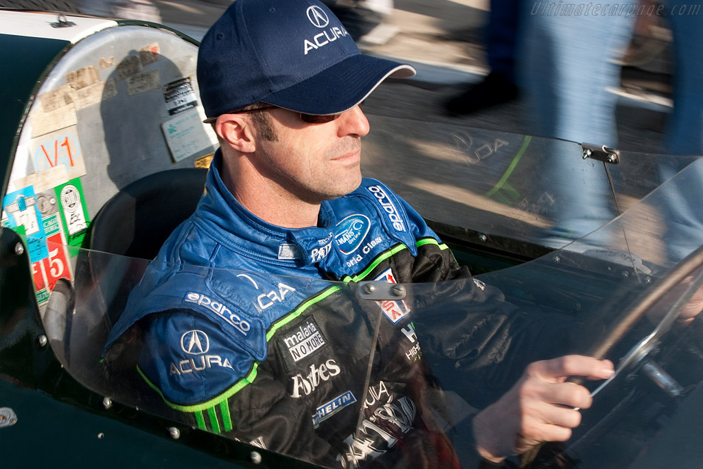 David Brabham in his father's Cooper - Chassis: F2-23A-58   - 2009 Sebring 12 Hours