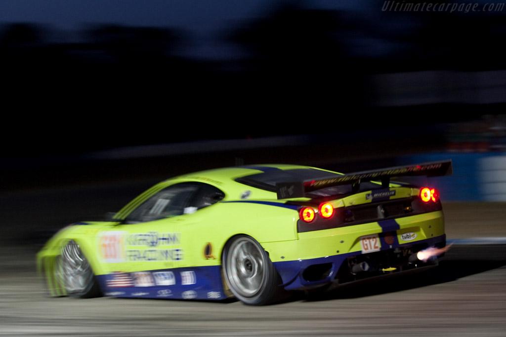 Ferrari F430 GTC - Chassis: 2656 - Entrant: Risi Competizione - Driver: Tracy Krohn / Nic Jonsson / Eric van de Poele  - 2009 Sebring 12 Hours