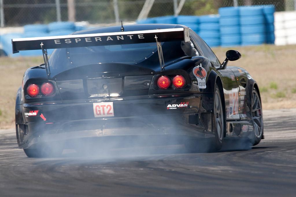 Panoz Esperante GTLM - Chassis: EGTLM 003b   - 2009 Sebring 12 Hours