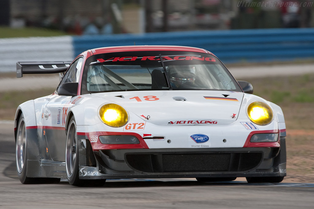 Porsche 997 GT3 RSR - Chassis: WP0ZZZ99Z8S799916   - 2009 Sebring 12 Hours