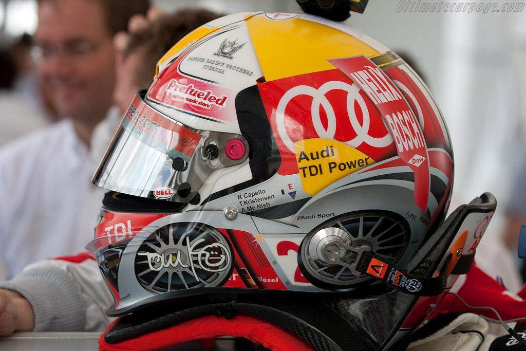 TK's new helmet    - 2009 Sebring 12 Hours