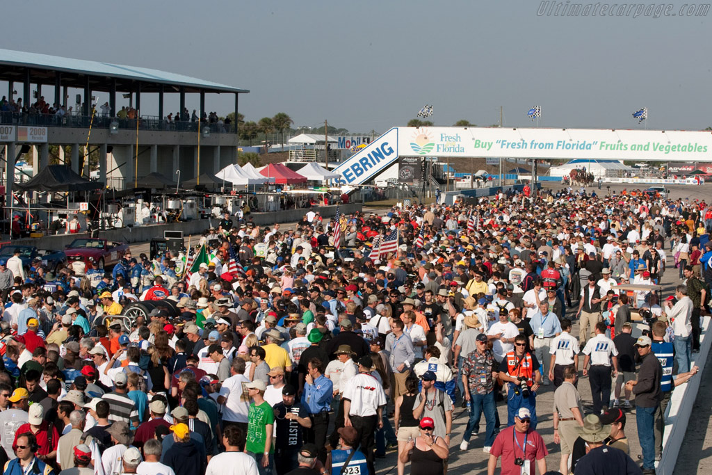 The grid    - 2009 Sebring 12 Hours