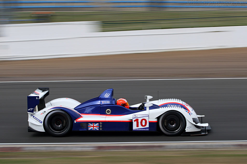16 year old Max Chilton - Chassis: 07S-02 - Entrant: Arena Motorsport  - 2007 Le Mans Series Silverstone 1000 km