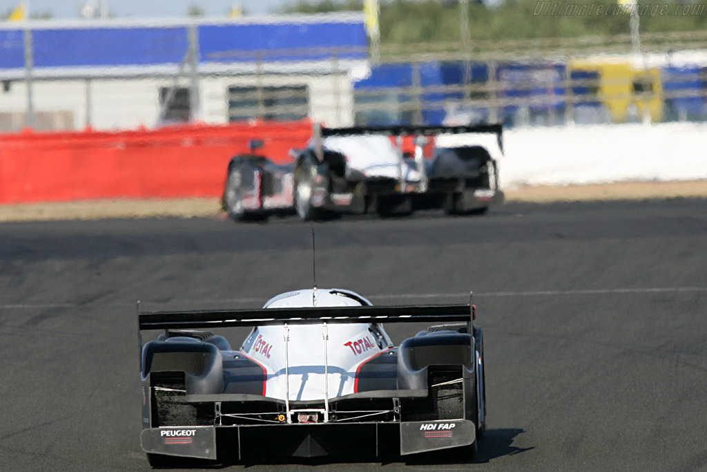 #7 Peugeot 908 HDi FAP - Chassis: 908-02 - Entrant: Team Peugeot Total  - 2007 Le Mans Series Silverstone 1000 km