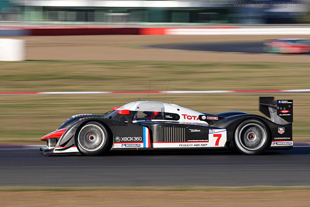 #7 Peugeot 908 HDi FAP - Chassis: 908-02 - Entrant: Team Peugeot Total  - 2007 Le Mans Series Silverstone 1000 km