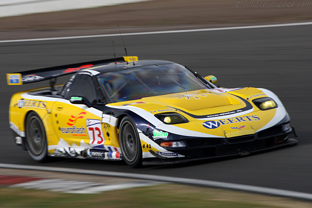Alphand C5-R - Chassis: 010 - Entrant: Luc Alphand Adventures  - 2007 Le Mans Series Silverstone 1000 km