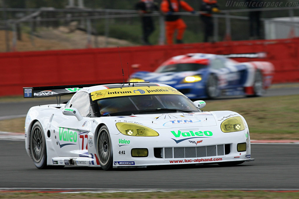Alphand C6.R - Chassis: 004 - Entrant: Luc Alphand Adventures  - 2007 Le Mans Series Silverstone 1000 km