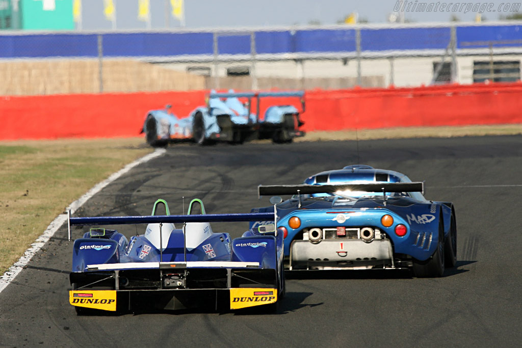 Barbosa's last race for Shorty - Chassis: 01-04 - Entrant: Rollcentre Racing  - 2007 Le Mans Series Silverstone 1000 km