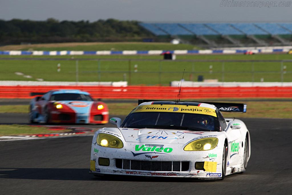 Battered 'Vette - Chassis: 004 - Entrant: Luc Alphand Adventures  - 2007 Le Mans Series Silverstone 1000 km
