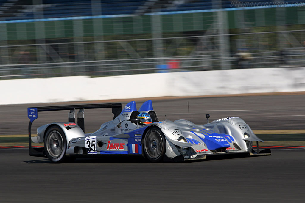 CER winner Nicolet finished 7th in class - Chassis: LC70-2 - Entrant: Saulnier Racing  - 2007 Le Mans Series Silverstone 1000 km